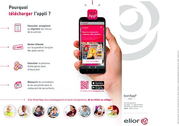 bon'app application cantine